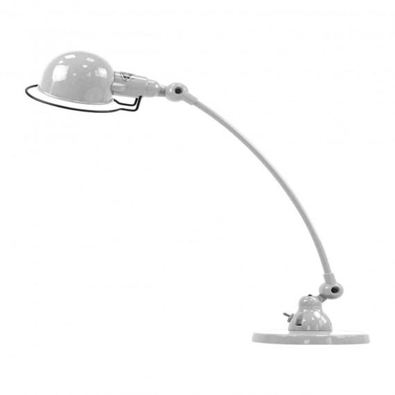 Argent Courbe Jieldé Poser À Lampe Signal Gris Nnm80vw