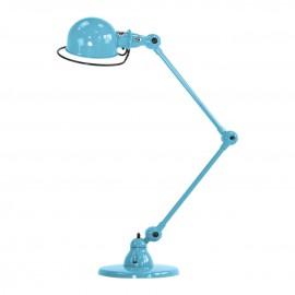 Lampe à poser LOFT - bleu pastel