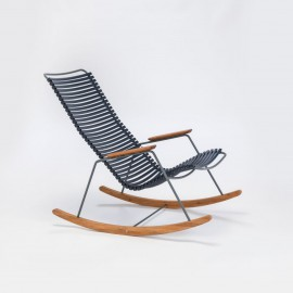 Rocking chair Click noir HOUE