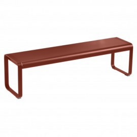 Banc BELLEVIE - ocre rouge