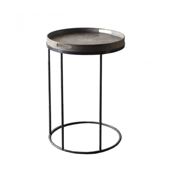 Tray Table Round Notre Basse Monde Small 8m0NwvnO