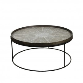 Table round Tray Low extra large