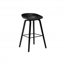 ABOUT A STOOL AAS 32 low black