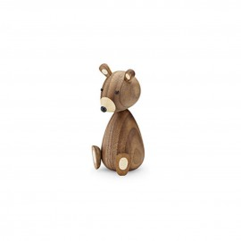 Bébé ours en bois