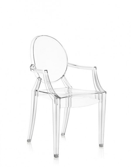 Fauteuil Kartell LOUIS GHOST Cristal