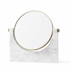 Miroir Pepe Marbre blanc