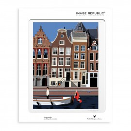 AFFICHE AMSTERDAM COLLECTION PAOLO MARIOTTI