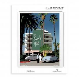 AFFICHE BEVERLY HILLS COLLECTION PAOLO MARIOTTI