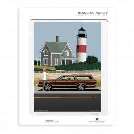 AFFICHE CAPE COD COLLECTION PAOLO MARIOTTI
