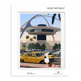 AFFICHE LOS ANGELES COLLECTION PAOLO MARIOTTI