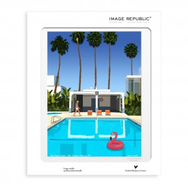 AFFICHE PALM SPRINGS COLLECTION PAOLO MARIOTTI