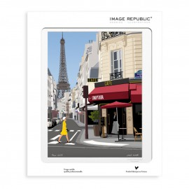 AFFICHE PARIS COLLECTION PAOLO MARIOTTI