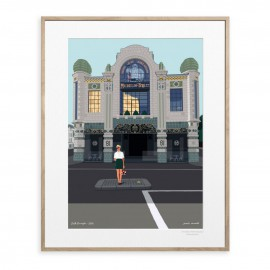 AFFICHE SOUTH KENSINGTON COLLECTION PAOLO MARIOTTI