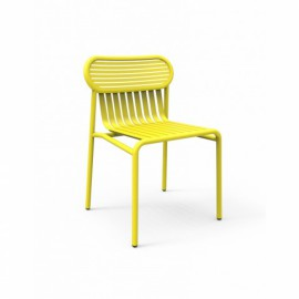 CHAISE D EXTERIEUR WEEK END JAUNE