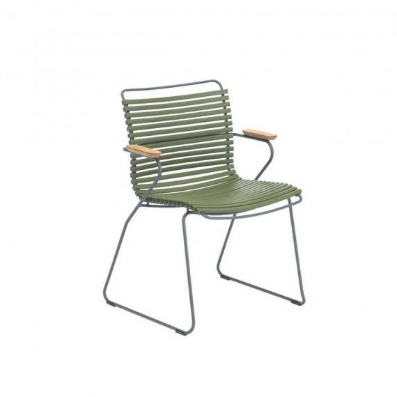 HOUE CHAISE CLICK VERT OLIVE