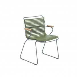 CHAISE CLICK VERT OLIVE HOUE