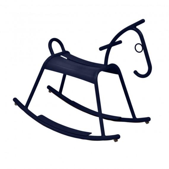 Fermob Cheval à bascule ADADA - bleu abysse