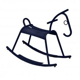 Cheval à bascule ADADA - bleu abysse Fermob