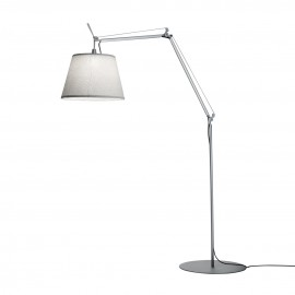 Lampadaire Tolomeo Paralume Outdoor  Blanc