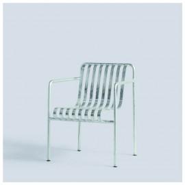 Palissade fauteuil de table galvanisé