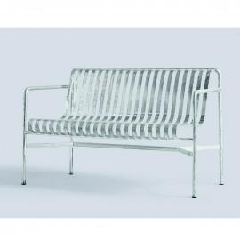 Palissade dining bench galvanisé
