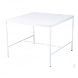 Rivage table mi-hauteur blanc