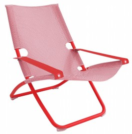 Fauteuil relax Snooze rouge