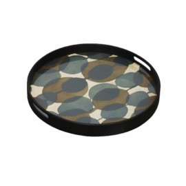 PLATEAU CONNECTED DOTS glass tray-RO/S Notre monde