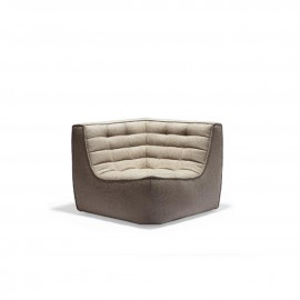 Canapé d'angle N701 Beige