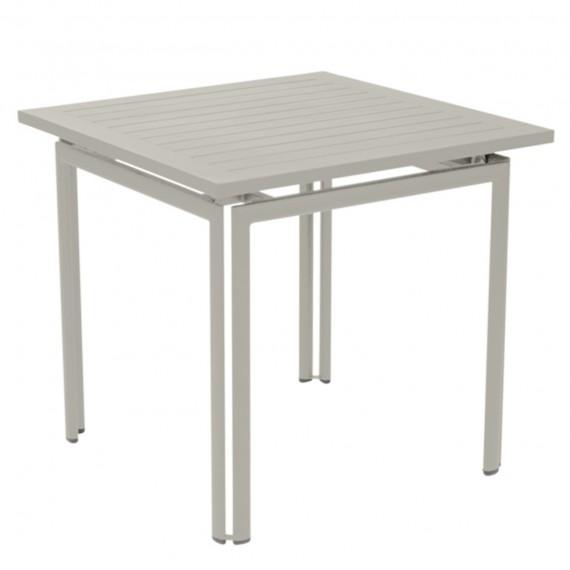 Fermob Table carrée COSTA - gris argile