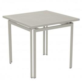 Table carrée COSTA - gris argile Fermob