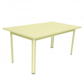 Table rectangulaire COSTA - citron givré