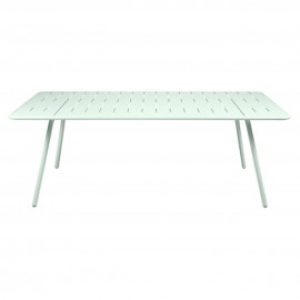 Table rectangulaire LUXEMBOURG - menthe glaciale