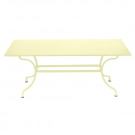 Table rectangulaire ROMANE - citron givré