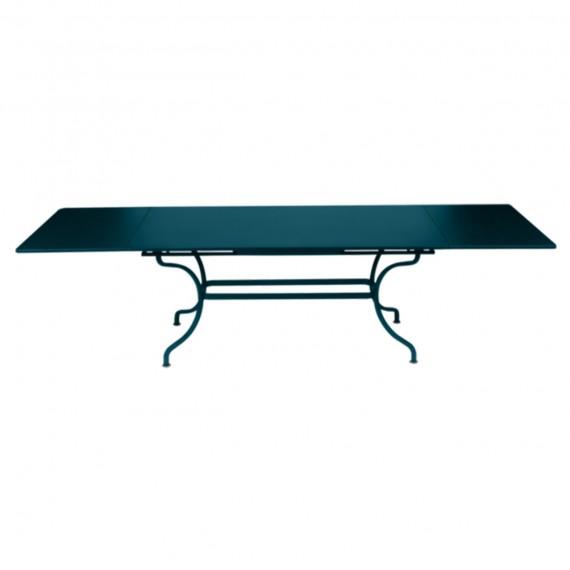 Fermob Table à rallonges ROMANE - bleu acapulco