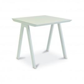 Table carrée VANITY - blanc