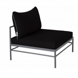 Chauffeuse RIVAGE - anthracite / noir