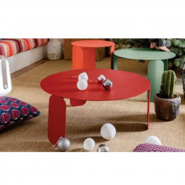 Table basse BEBOP - rose praline Fermob