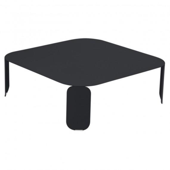 Fermob Table basse carrée BEBOP - carbone
