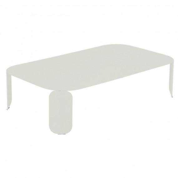 Fermob Table basse rectangulaire BEBOP - gris argile