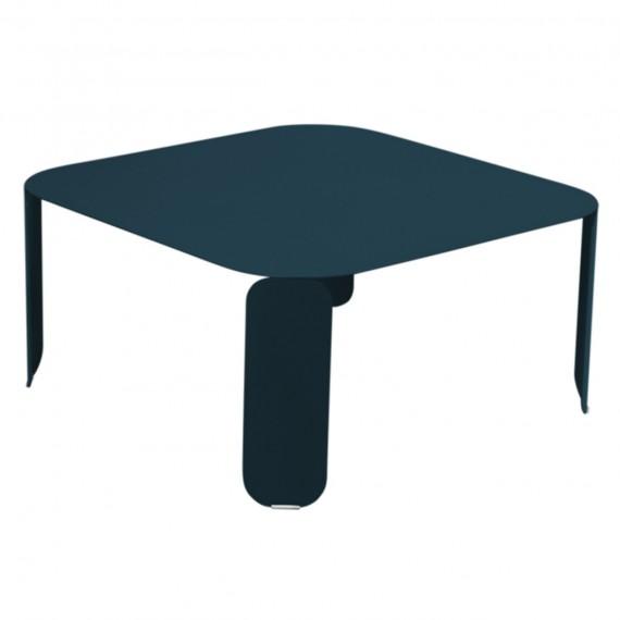 Fermob Table basse carrée BEBOP - bleu acapulco