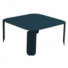 Table basse carrée BEBOP - bleu acapulco Fermob