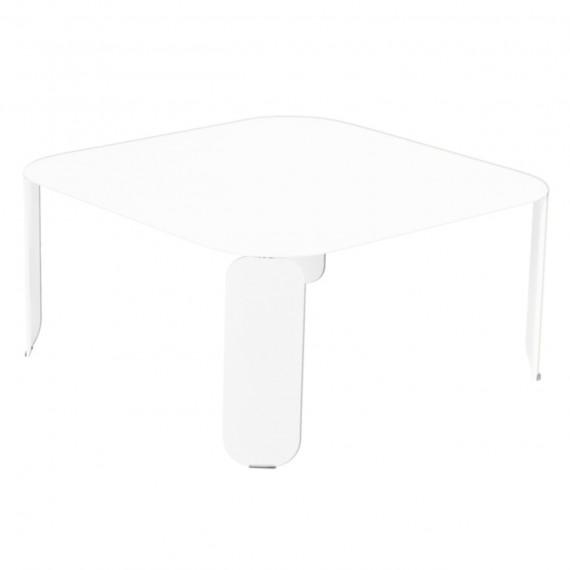 Fermob Table basse carrée BEBOP - blanc