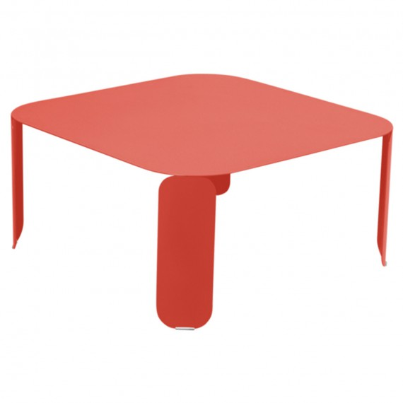 Fermob Table basse carrée BEBOP - capucine