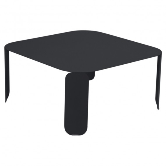 Fermob Table basse carrée BEBOP - carbone