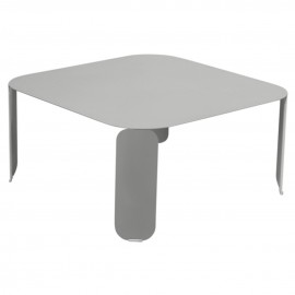 Table basse carrée BEBOP - gris métal Fermob