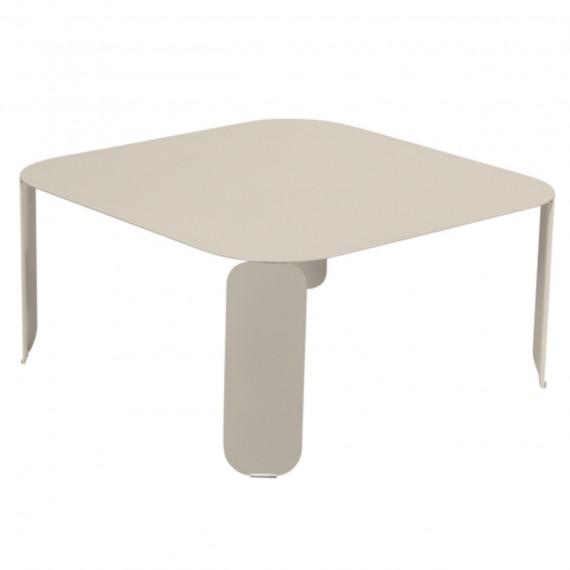 Fermob Table basse carrée BEBOP - muscade