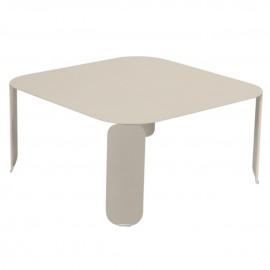 Table basse carrée BEBOP - muscade Fermob