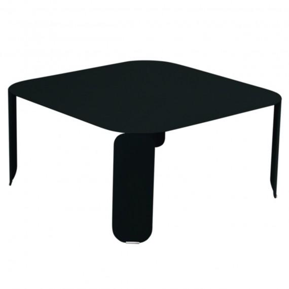 Fermob Table basse carrée BEBOP - réglisse