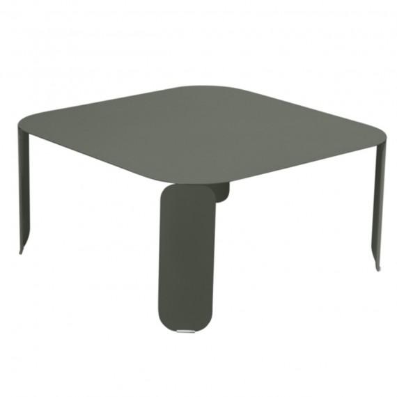 Fermob Table basse carrée BEBOP - romarin